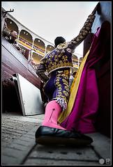 talavante-estirando (Manon71) Tags: bulls toros bullfight toreros lasventas alejandrotalavante sanisidro14 22demayode2014
