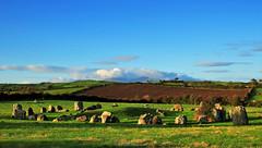 Ballynoe Stone Circle (Gerard Joseph Christopher) Tags: ireland irish celtic ballynoe stone circle mourne mountains neolithic sunrise mournes tuatha de danann druid ancient