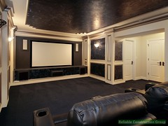 Luxury theater room (adambebenek) Tags: architecture chair carpet decor design estate executive family furniture home house inside interior lamp leather light living media movie residence residential real room screen theather upscale