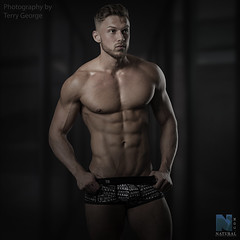Dexter Brierley NFM (TerryGeorge.) Tags: dexter brierley nfm natural fitness models abs six pack workout toned athletic terry george photography male underwear model