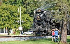 Cameras Up (craigsanders429) Tags: nickelplateroad nkp767 nickelplate767 nickelplateroad767 everett cuyahogavalleyscenicrailroad steamlocomotives steamtrains steamexcursions steamtrain steamonthecvsr