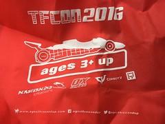 tf con 2016 bag (timp37) Tags: rosemont illinois october 2016 transformer con tfcon bag tote