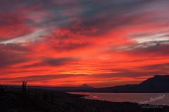 Rufus Colored Sky (Gary Randall) Tags: gar29472 oregon columbiarivergorge sunset red mthood mounthood rufus