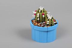 Cactus (Milan CMadge) Tags: lego plants cactus lily flower petals balloon pieces bloom bricks moc