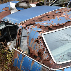 DSC_0858 (2) v2 (collations) Tags: ontario mcleansautowreckers autowreckers wreckers automobiles autos abandoned rockwood derelict junkyards autograveyards carcemeteries