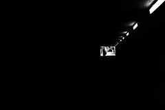 out of the dark (d26b73) Tags: blackandwhite bw schwarzweiss noiretblanc monochrome fujifilm xpro2 urbanarte streetphoto silhouette