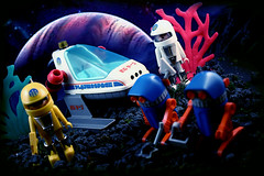 Playmospace.... (harrycobra) Tags: toys vintage playmobil 80s 90s thrift find