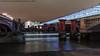 Blackfriars Bridge (DSC08570) (Michael.Lee.Pics.NYC) Tags: london england unitedkingdom blackfriarsbridge trainstation thamesriver night longexposure lighttrail traffictrail boat pier cloudy architecture cityscape sony a7rm2 fe2470mmgm