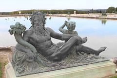 Gods and Kings at Versailles (big_jeff_leo) Tags: paris louis versailles palace architecture gold heritage building statelyhome historic art ceiling fresco imperial unesco hallofmirrors french royal