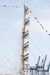 Tall Ship Race 2016, Cadiz - Cuauhtemoc (Ingunn Eriksen) Tags: cuauhtemoc tallship tallshiprace2016 cadiz spain balance