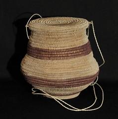 Amazonian Basket Ecuador Oriente (Teyacapan) Tags: amazonian basket canasta ecuadorian shuar crafts artesanias achuar oriente textiles fibers