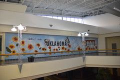 Mall mural (radargeek) Tags: mall crossroads plazamayor okc oklahomacity mural art painting palmer drbobpalmer