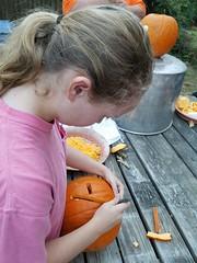 20161023_174201 (leigh49137) Tags: pumpkincarving2016 halloween pumpkin jackolantern loveleigh leighharrell leigh49137 loveleighphotography leightharrell leighturberville lth october autumn