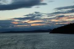 Sunday Sunrise (DanaRane) Tags: 2016 2016october hiking orcasisland sunrise ferry