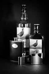 A Little Nip at Home & Away (Graham'M) Tags: whisky flask stilllife