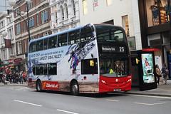 DNH39116 SN12ARX (Tower Transit) Oxford St 30.10.16 (Rays Bus Photographs) Tags: towertransit dnh39116 sn12arx advertbus zillertal