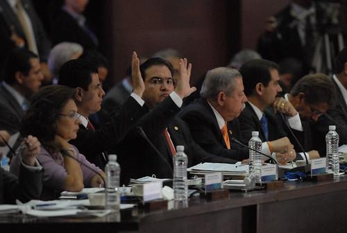El gobernador Javier Duarte de Ochoa asistió a la XXX Sesión del Consejo Nacional de Seguridad Pública 4