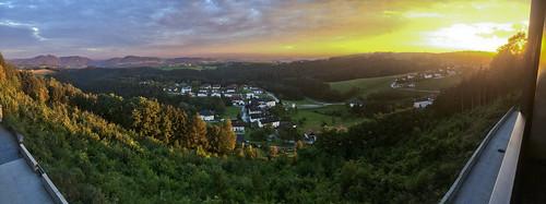 Sunset at Bad Kreuzen