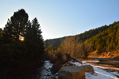 Colorado Mountains (Janine Curry) Tags: nikon d200 red professional utd car trip mountains rocky sunset light color colorado