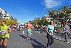 Athens Marathon 2016,  Runners at the Final Stage Downtown (bilwander) Tags: greece athen athensmarathon theauthentic athens marathon international race classic route panathinaiko stadio          masterplan map photo slideshow bilwander november132016