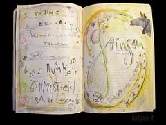 a quiet smile to oneself (Lizinnie) Tags: lcheln lachen grinsen smirk grin wordplaypainting lynnwhipple wrter schrift script