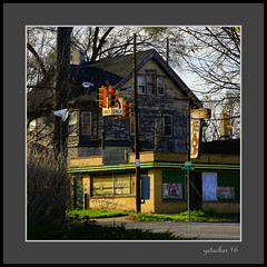 EAT (the Gallopping Geezer '4' million + views....) Tags: building structure sign signage eat spikelee former restaurant food dine drink closed vacant abandoned decay decayed derelict faded worn weathered flint mi michigan old forgotten fifthavenue canon 5d3 tamron 28300 geezer 2016