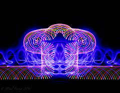 Light Painting Abstract (JPaulTierney) Tags: lightpainting light longexposure ledlights led figure abstract spirograph wand