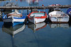 Reflecting (sarah_presh) Tags: boats reflection harbour sea greece methoni nikond750 red blue white peleponnese