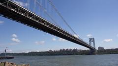 0945_New York City - George Washington Bridge (bikej0e) Tags: nyc newyorkcity newyork usa fortlee newjersey georgewashingtonbridge manhattan
