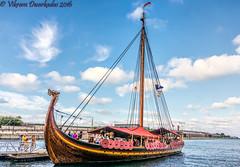 Draken Harald Harfagre, Viking Tallship - Chicago Tallships Festival 2016 (vdwarkadas) Tags: drakenharaldharfagre vikingtallship viking tallships chicagotallshipsfestival2016 norway greatlakes sony sonynex5t water sailing
