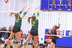 IMG_6687 (SJH Foto) Tags: girls volleyball high school allentown central catholic somerset team teen teenager net battle spike block action shot jump midair