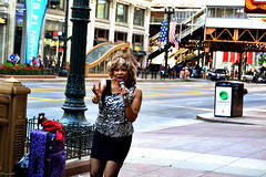 Tina (hearn_josh) Tags: tina turner busker street photography chicago downtown portrait usa america music musician simply best