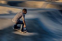 Venice Skate Park. (drpeterrath) Tags: canon eos5dsr 5dsr color losangeles lacp california outdoor motion panning man naturallight venicebeach venice skater veniceskatepark
