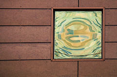 Reflection Art (studioferullo) Tags: abstract art beauty bright building buildings city colorful colors brown green yellow blue contemporary contrast detail design downtown edge edges frame gold glass light line lines metal minimalism mirror modern outdoor outdoors outside pattern pretty reflection rust square study street texture tone tones window wall tucson arizona