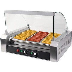 New Commercial 30 Hot Dog 11 Roller Grill Cooker Machine W/ cover CE New (1800PetsAndVets.com) Tags: commercial cooker cover grill machine roller