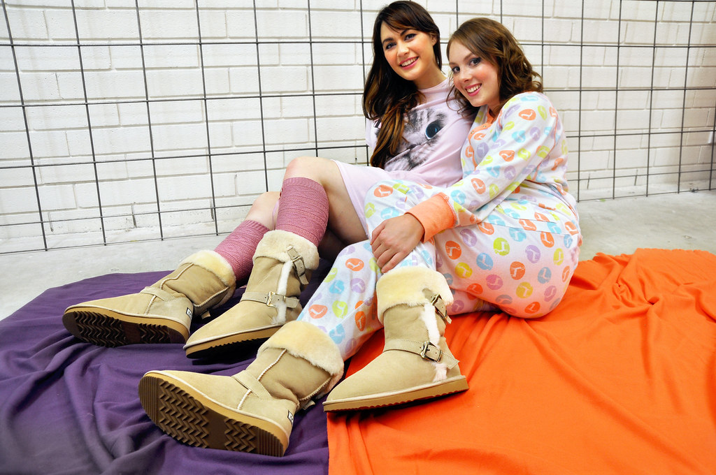 7444541134 Bondi Ugg Adelaide Winter 2013 Ugg Boot Pyjamas Photoshoot (Lace and  Buckles) Tags