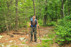 Thru-hiker Mr. Dallas (Throwingbull) Tags: park sport dallas mr hiking pennsylvania name 14 hike pa trail national mister hiker hikers through appalachian activity sec section thru