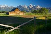 Mormon Barn in the Morning (ClintonKemp) Tags: morning barn grandteton mormonbarn