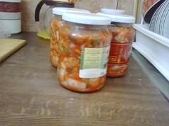 Beüvegezett kimchi
