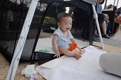 happy boy (iriswins) Tags: baby smile burger