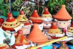 Tagines in Tangier Medina (ShaunMYeo) Tags: morocco maroc marruecos tangier marokko tanger marrocos fas marokas marokkó maroko مغربي марокко