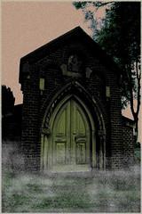 Alberda van Ekenstein Tombe Vault (Lesneyman) Tags: cemetery grave photoshop tomb gimp vault groningen tjamsweer cgth dwwg tombvault