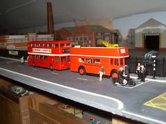 Failed Fleetline (Bandsman1) Tags: bus model rt failed efe daimler fleetline diecast opentop aec repaint code3 oogauge 176scale counbourne
