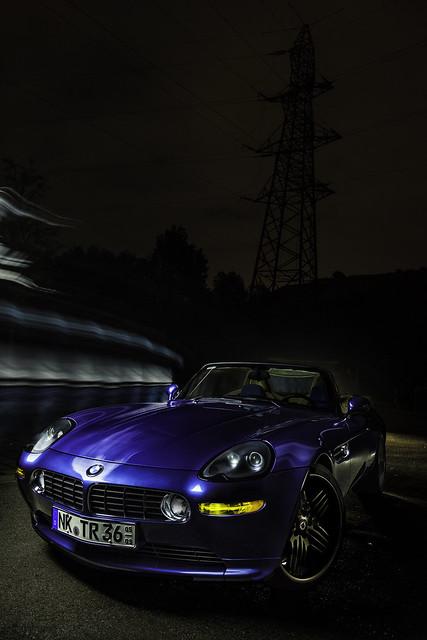 light night contrast photoshop painting high alpina bmw z8 nostrobistinfo canon5dmark2 removedfromstrobistpool seerule2 mygearandme