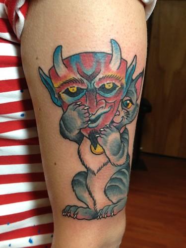 cat devil01