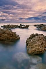Sunrise (Blitzknips) Tags: longexposure sunrise landscape spain meer mediterranean landschaft mallorca spanien espania mittelmeer calaratjada