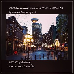 | no.100 | | District of Gastown | (onemillionreasonstolovevancouver) Tags: world city people tourism home promotion vancouver cool realestate profile gastown today l4l vancity downtownvancouver metrovancouver onemillion cityofvancouver vancouverite vancouvercity vancouvertourism vancouverrealestate vanone awesomevancouver instaphoto instagood instafollow uploaded:by=flickrmobile flickriosapp:filter=nofilter miguelboccanegra thegreatervancouverarea