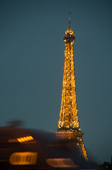 Eiffel Tower by night - Paris