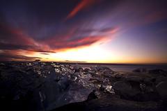 Iceland: Glacier Lagoon (mbaglole) Tags: iceland glacierlagoon bw10ndfilter nikonnikkor1024mm nikond7100
