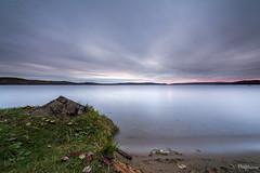 (David Crombie Photography) Tags: longexposure sunrise nikon filter lee nd algonquin provincialpark barklake 1424 leefilters d700 leesw150 sw150 derelictcompositions